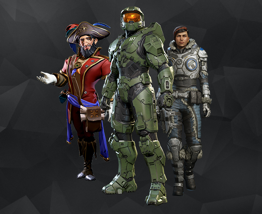 Image of game characters